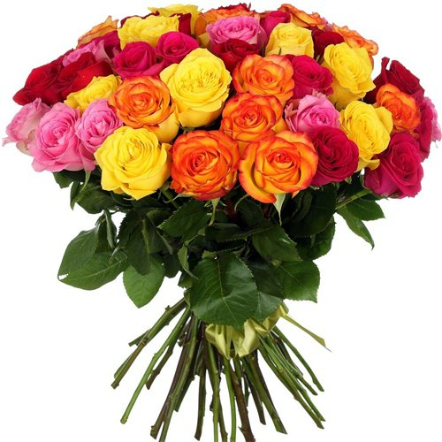 Роза микс 40 см