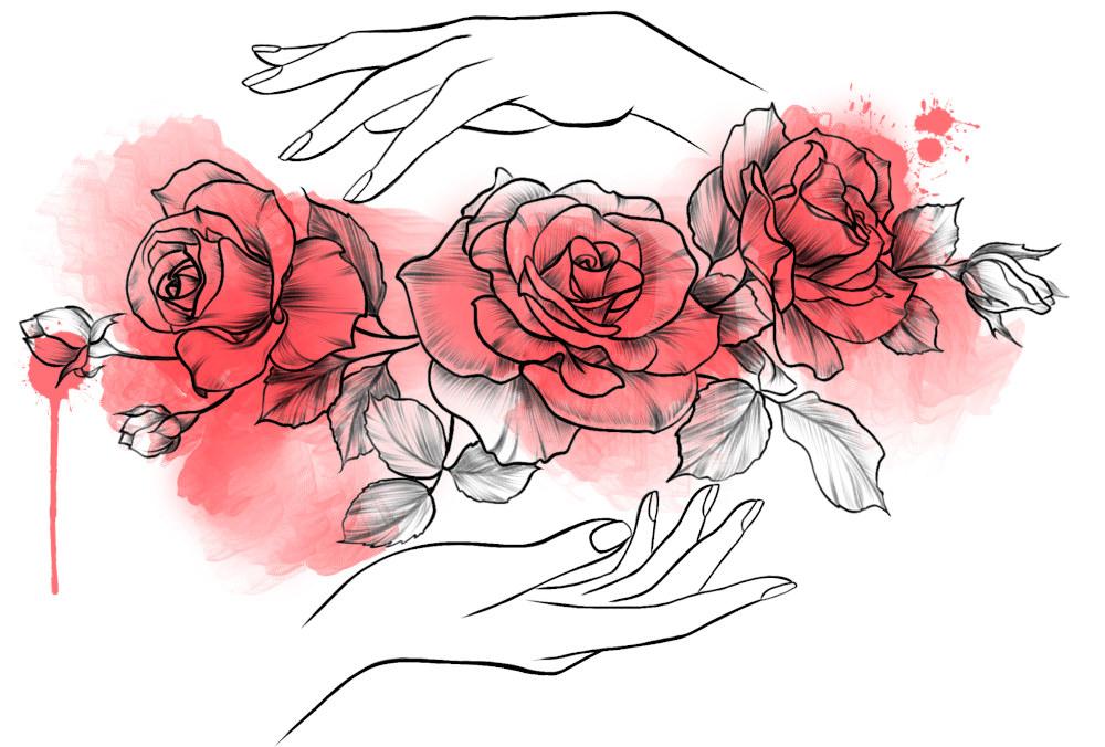 Сколько роз нужно дарить